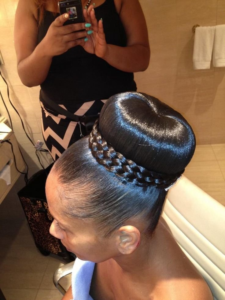 New 13 Hottest Black Updo Hairstyles Pretty Designs Ideas With Pictures
