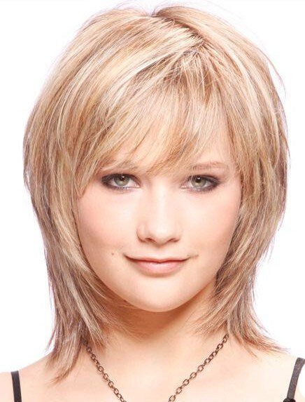 New Medium Length Layered Straight Affordable Remy Hair Wig Ideas With Pictures