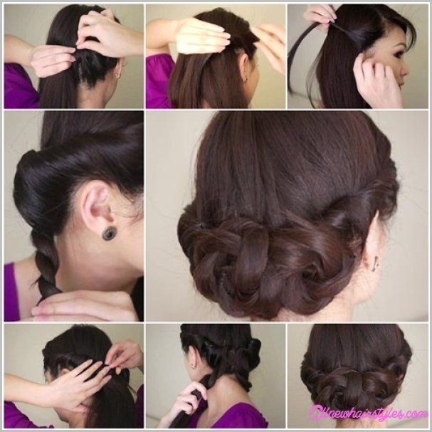 New Easy Do It Yourself Prom Hairstyles Allnewhairstyles Com Ideas With Pictures