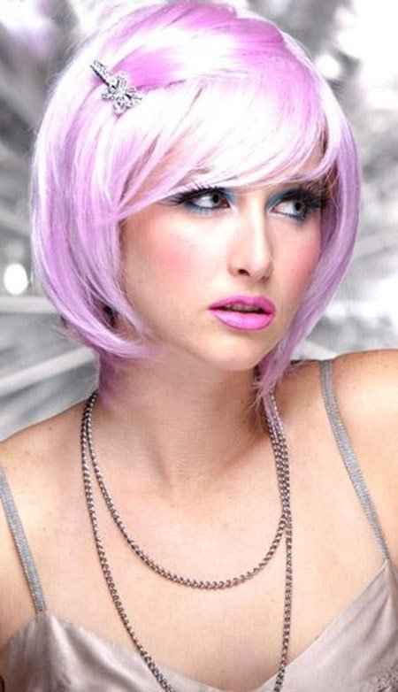 New 20 Cute Colors For Short Hair Short Hairstyles 2017 Ideas With Pictures