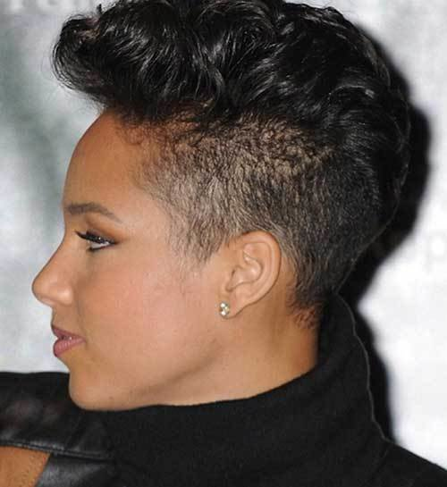 New Mohawk Short Hairstyles For Black Women Short Hairstyles 2018 2019 Most Popular Short Ideas With Pictures