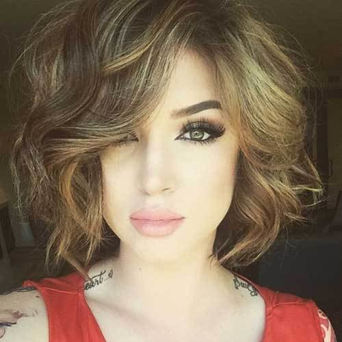 New 25 Chic Curly Short Hairstyles Short Hairstyles 2017 Ideas With Pictures
