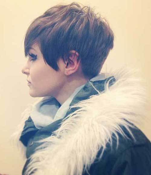 New 15 Pixie Cuts For Thick Hair Short Hairstyles 2017 Ideas With Pictures