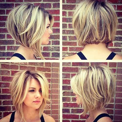 New 35 Best Layered Short Haircuts For Round Face 2018 Short Ideas With Pictures