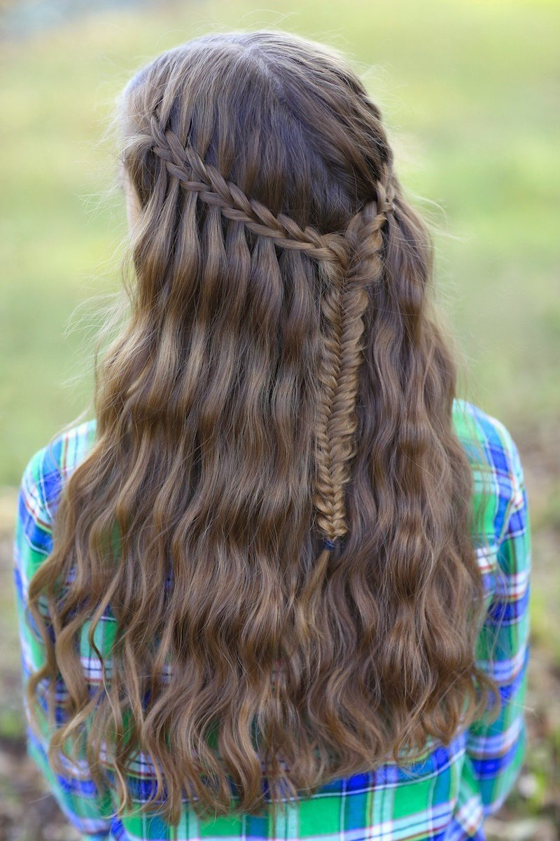New Scissor Waterfall Braid Combo Ideas With Pictures