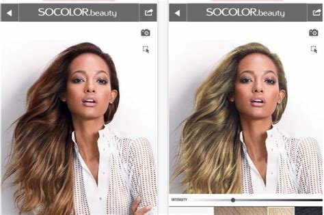 New Matrix And Modiface Create Next Gen Hair Colour Simulator Ideas With Pictures