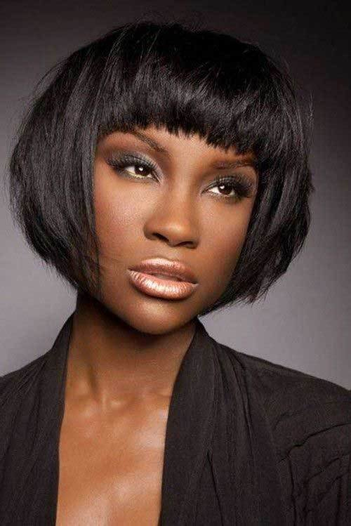 New Short Hairstyles With Bangs For Black Women Short Ideas With Pictures Original 1024 x 768