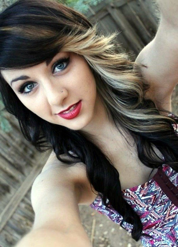 New 45 Graceful Two Tone Hair Color Ideas For Various Hairstyles Ideas With Pictures