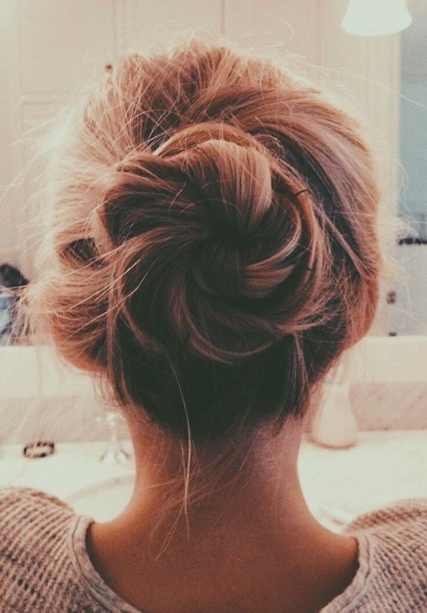 New 103 Messy Bun Hairstyles Ideas With Pictures