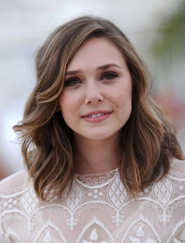 New 25 Beautiful Medium Length Haircuts For Round Faces Ideas With Pictures