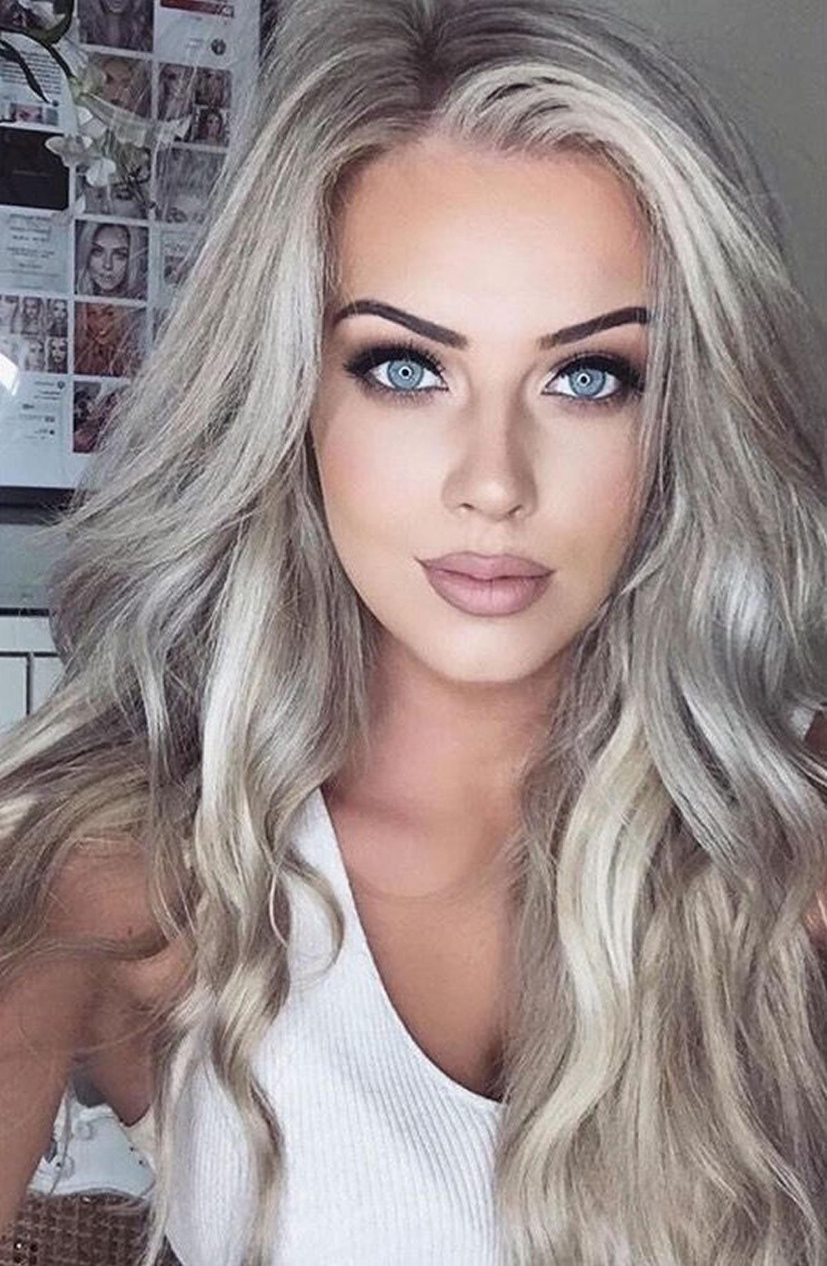New Gray Hair Color Ideas 2018 2019 Long Hair Tutorial Ideas With Pictures