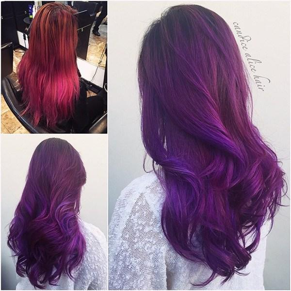 New 20 Hot Hair Color Styles The Latest Hair Dye Choice From Ideas With Pictures