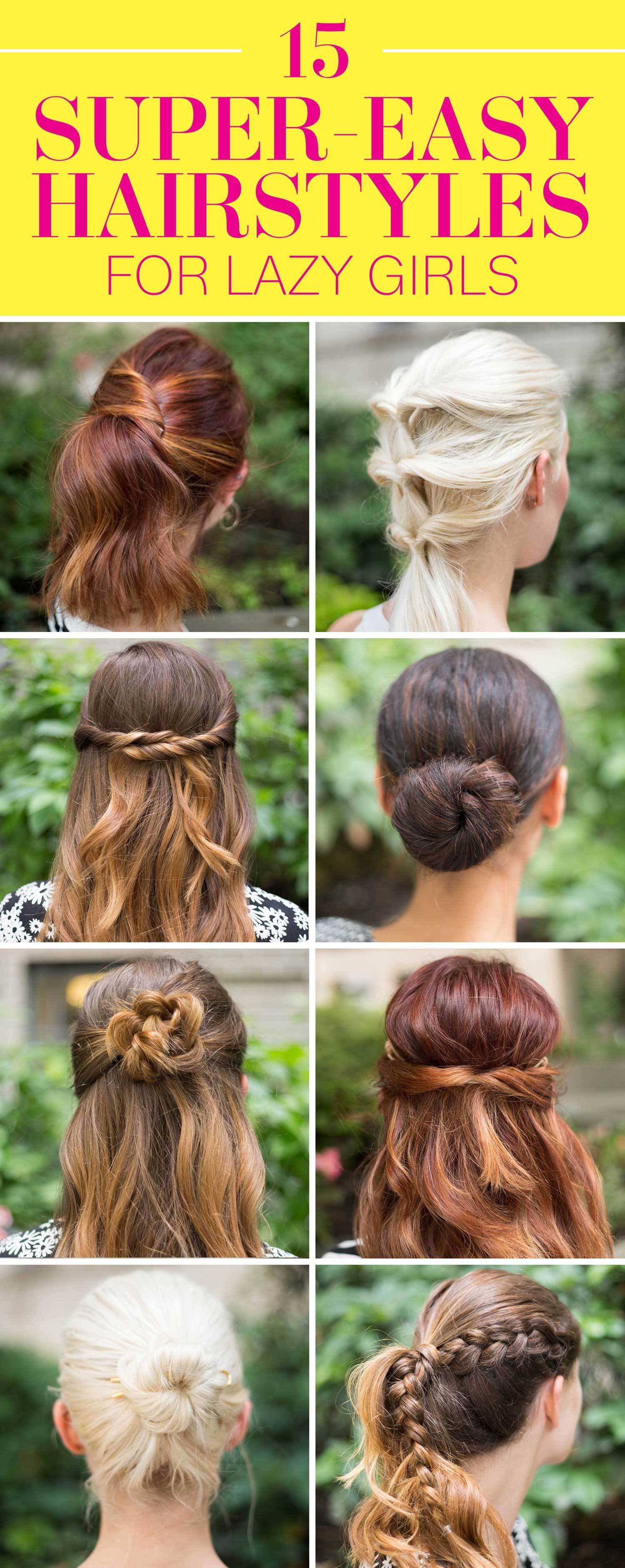 New 15 Super Easy Hairstyles For Girls In 2016 Three Step Ideas With Pictures