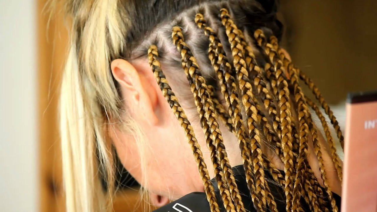New Caucasian Box Braids Trailer Youtube Ideas With Pictures