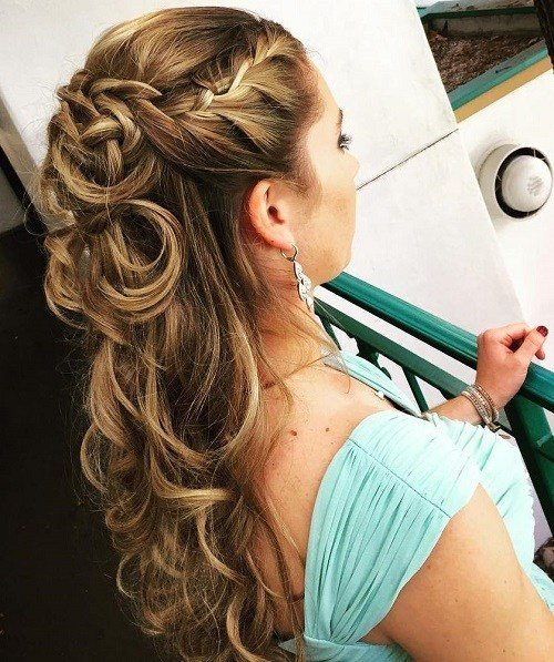 New Half Up Half Down Wedding Hairstyles – 50 Stylish Ideas Ideas With Pictures