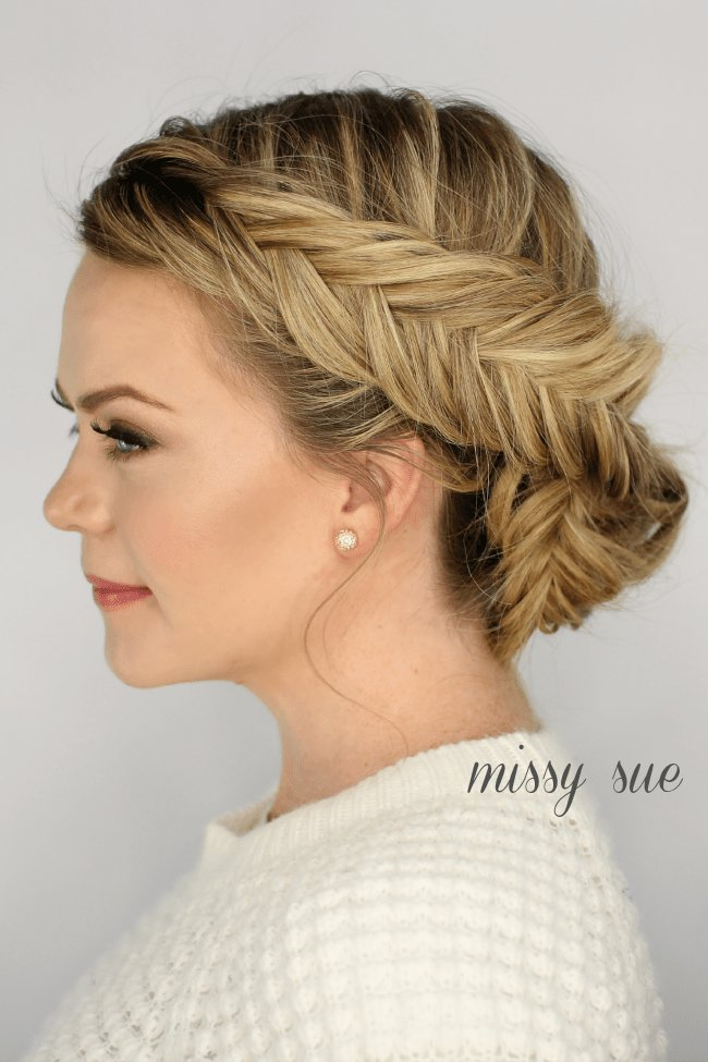 New Inverted Fishtail Braid Archives Missy Sue Ideas With Pictures