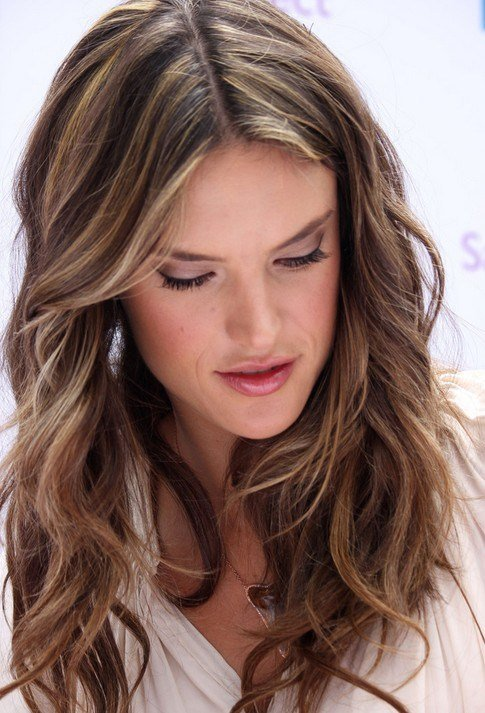 New Layered Light Brown Hairstyles Alessandra Ambrosio Hair Popular Haircuts Ideas With Pictures