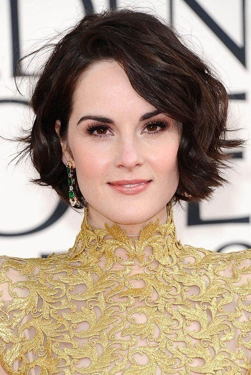 New Easy Short Hairstyles For Wavy Hair 2014 Popular Haircuts Ideas With Pictures