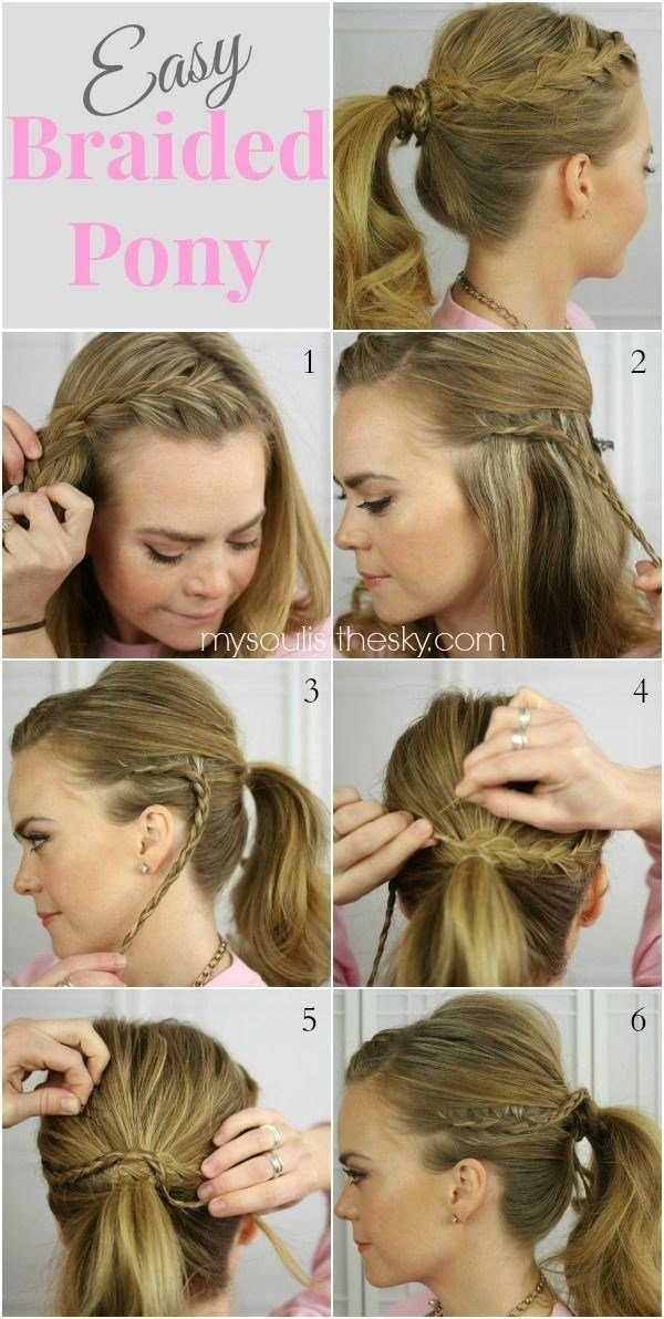 New 15 Cute And Easy Ponytail Hairstyles Tutorials Popular Haircuts Ideas With Pictures