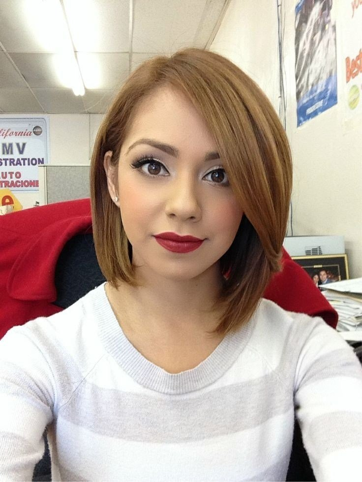 New 15 Cute Chin Length Hairstyles For Short Hair Popular Haircuts Ideas With Pictures