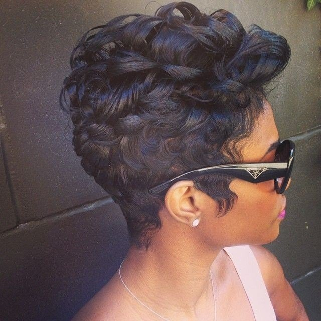 New 22 Easy Short Hairstyles For African American Women Ideas With Pictures Original 1024 x 768