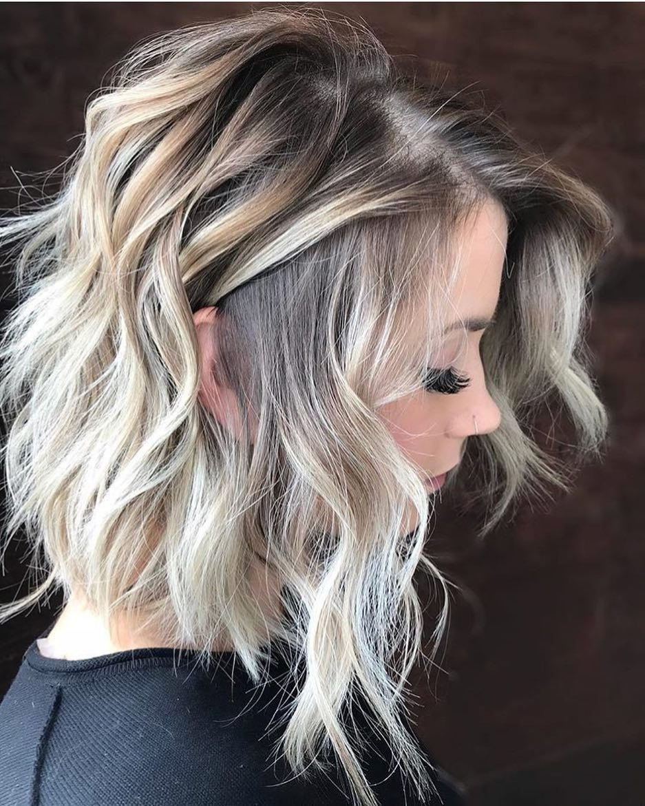 New 10 Wavy Haircuts For Medium Length Hair 2019 Ideas With Pictures