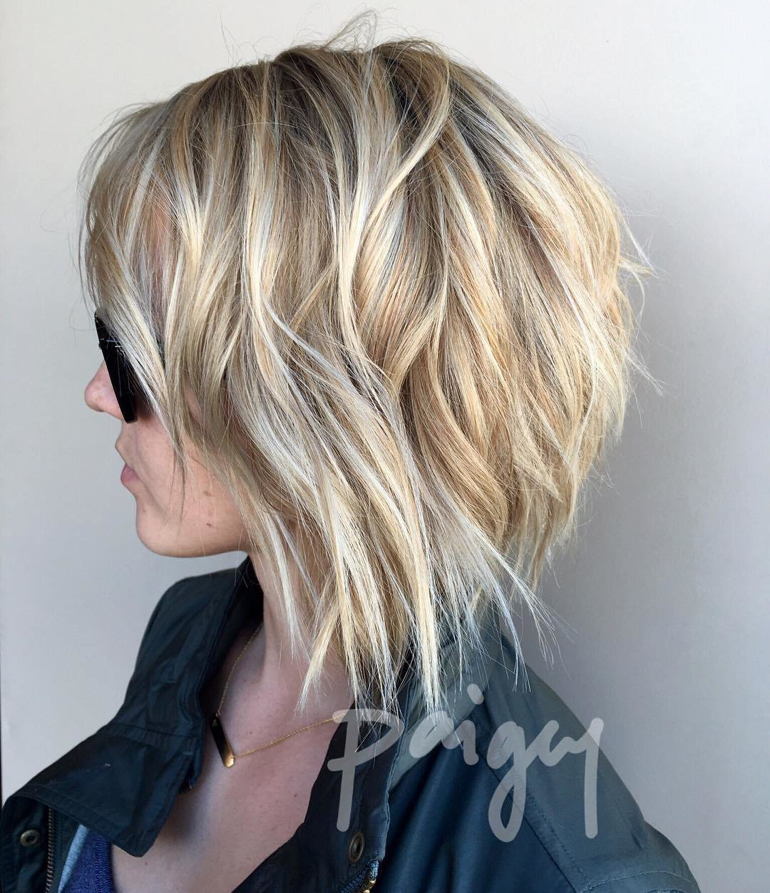 New 10 Trendy Choppy Lob Haircuts For Women Best Medium Hair Styles 2019 Ideas With Pictures