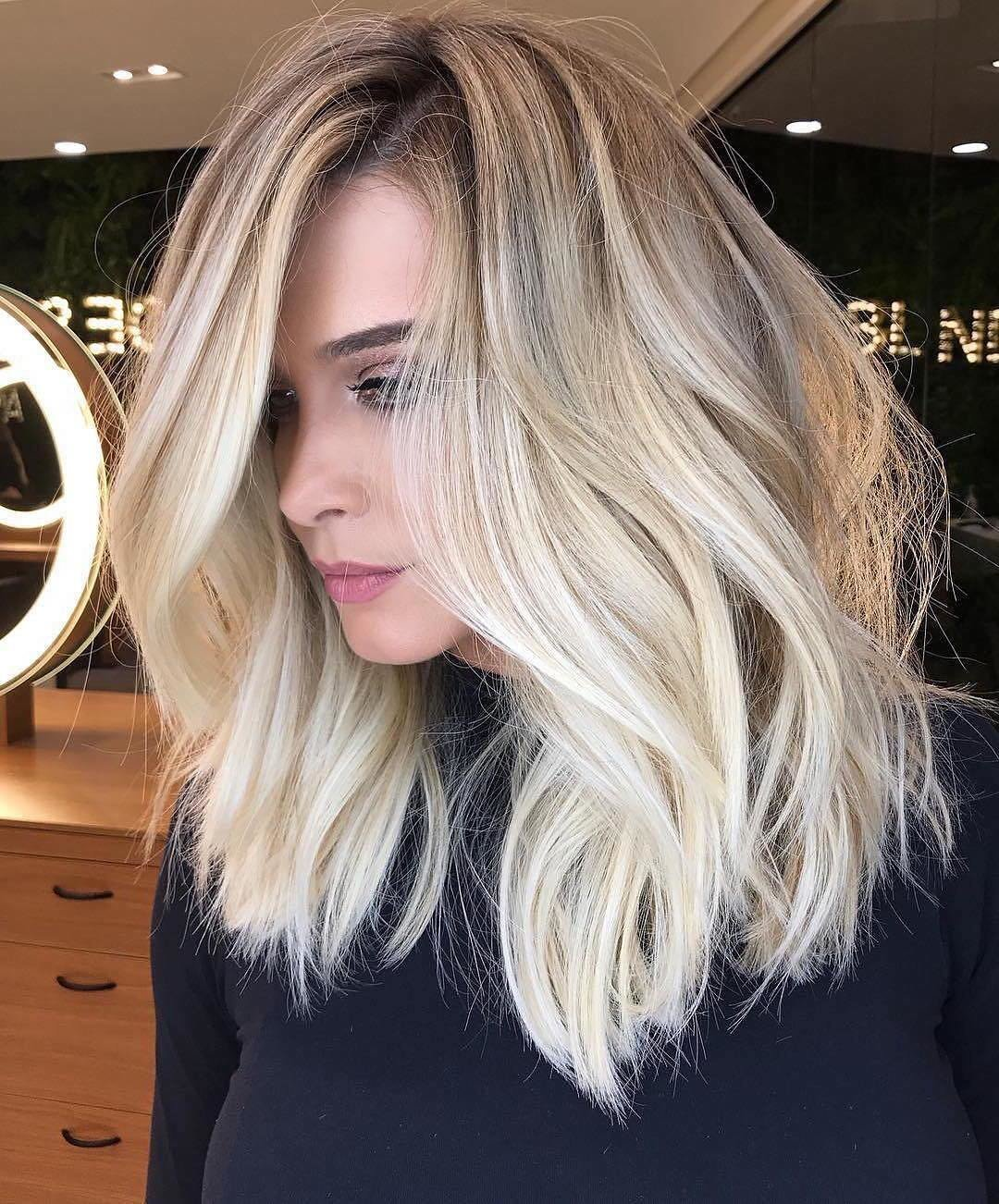 New 10 Trendy Ombre And Balayage Hairstyles For Shoulder Ideas With Pictures