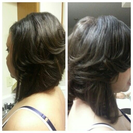 New Semi Layered Bob Sew In Hair Ideas With Pictures