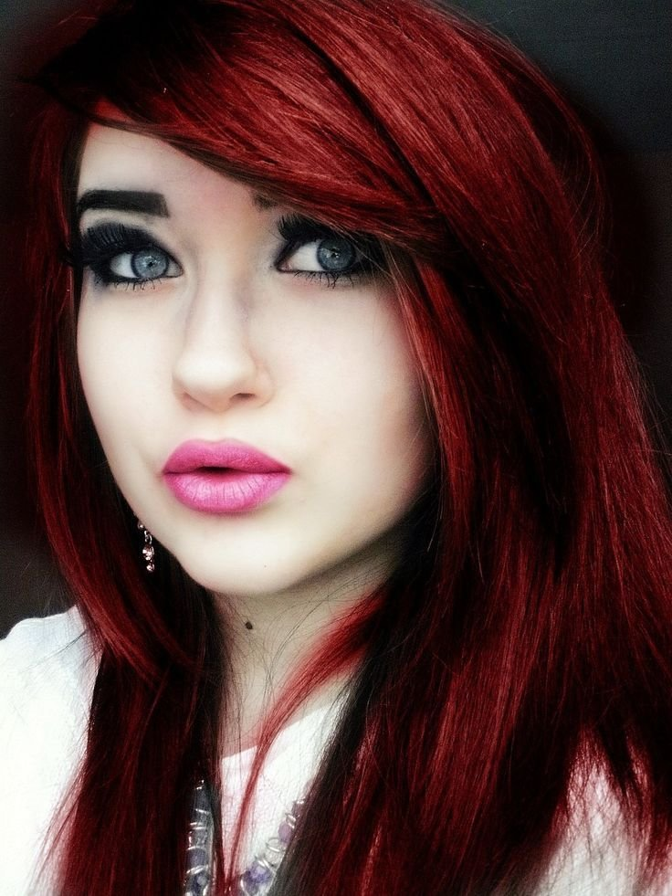 New Red Hair Color Shades Of Red Pinterest Ideas With Pictures