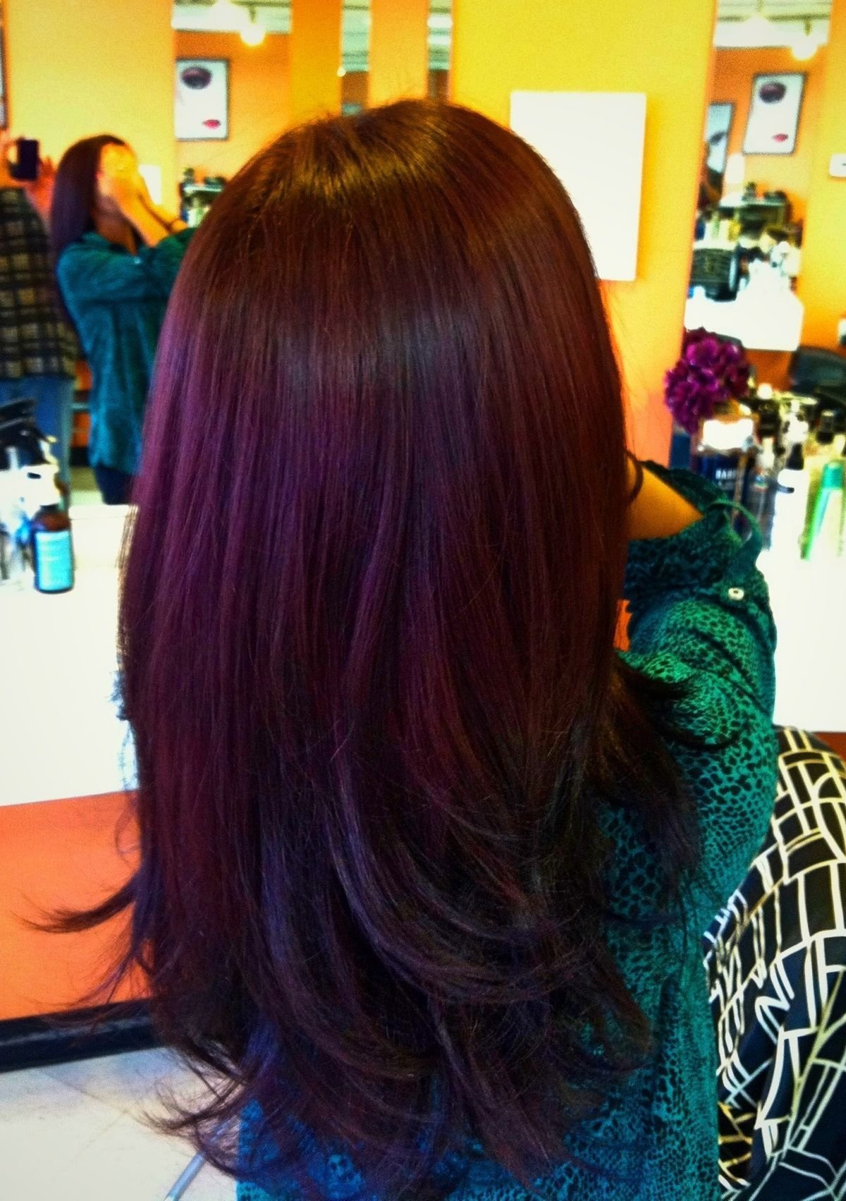 New Lovin The Plum Color Over Brown Hair Looove Pinterest Ideas With Pictures