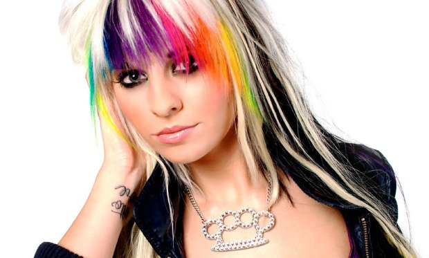 New Hair Extensions Types Colored Hair Extensions Ideas With Pictures