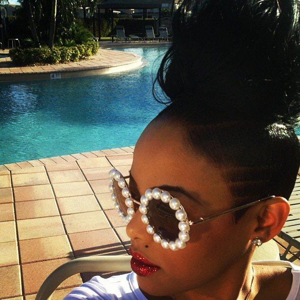 New Kemi Online ♥ Keyshia Dior Shows Off Dope Hairstyle Ideas With Pictures