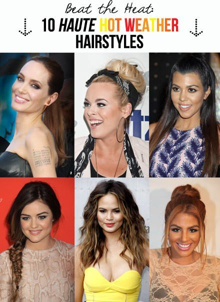 New 10 Haute Hot Weather Hairstyles Beat The Heat Ideas With Pictures