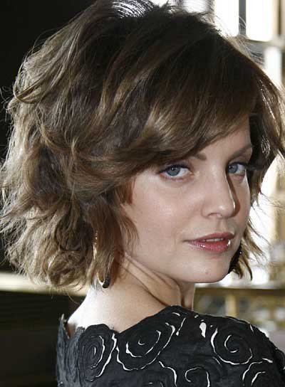 New Short Wavy Tousled Hairstyles Beauty Riot Ideas With Pictures