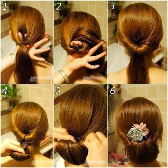 New Steps Of Hair Styling Ideas With Pictures