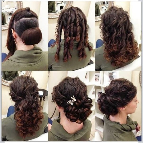 New Elegant Updo Hairstyle In Only 6 Steps B G Fashion Ideas With Pictures