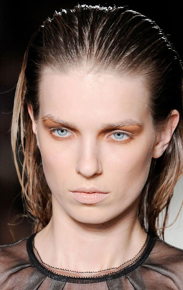 New Different Stripes Gelled And Slicked Hairstyles Ideas With Pictures