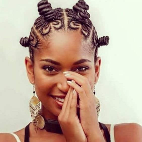 New Bantu Knots Hairstyle Inspiration Ideas With Pictures Original 1024 x 768