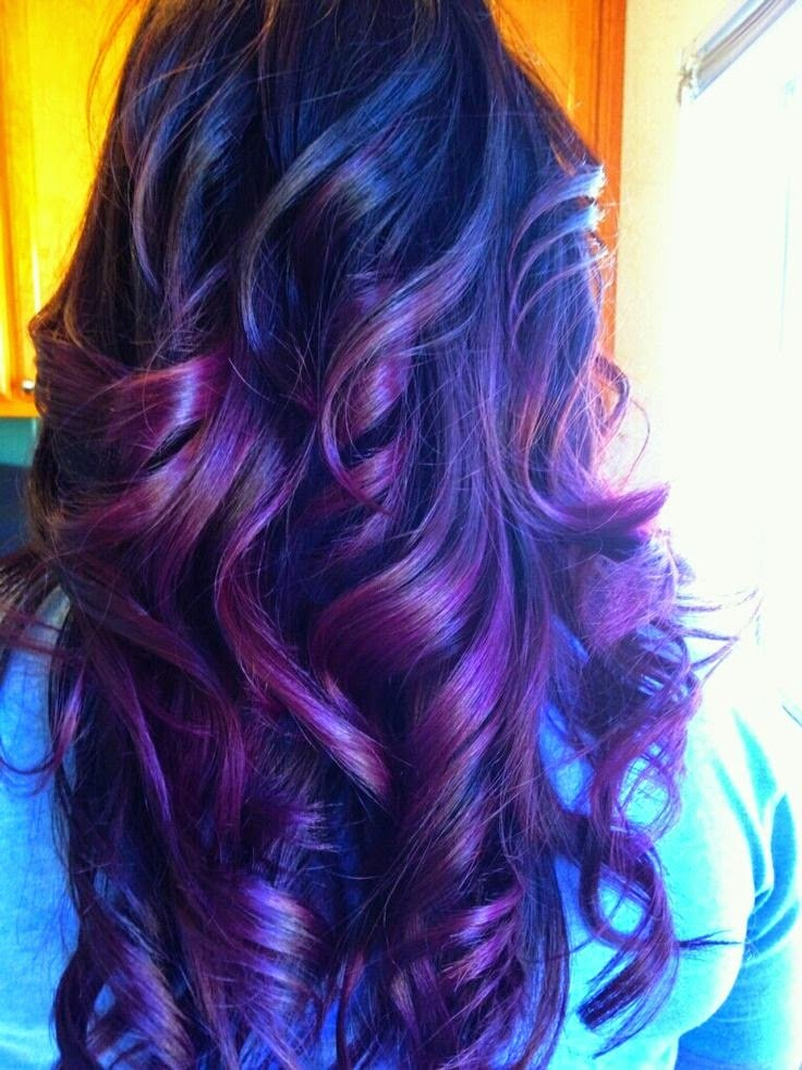 New Purple Hair Color Ideas Shades Of Purple Hair Fashion Ideas With Pictures