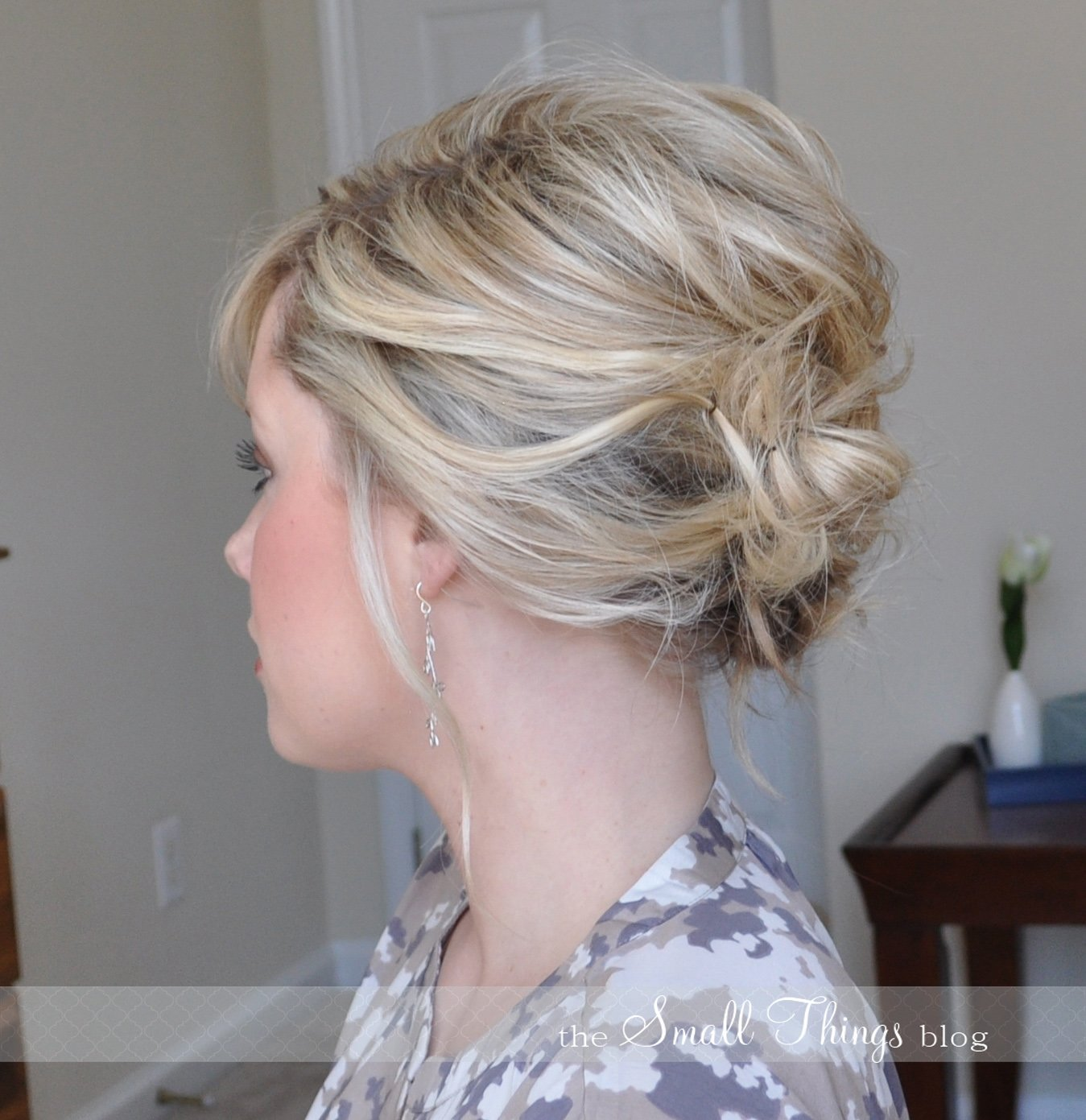 New The Messy Side Updo – The Small Things Blog Ideas With Pictures