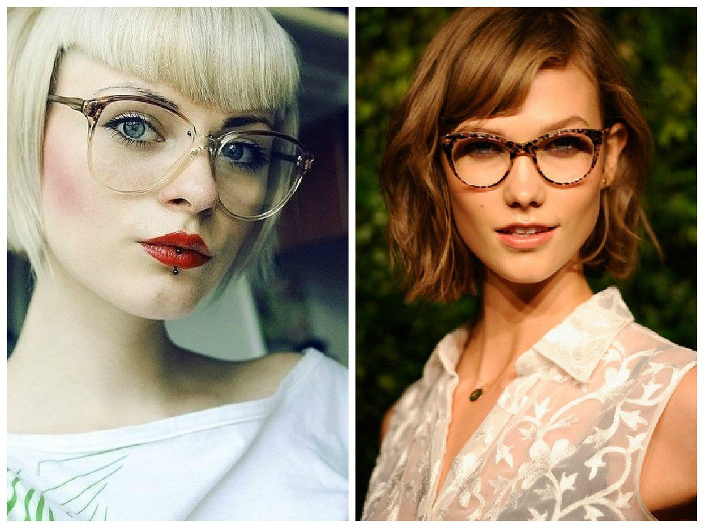 New Bangs And Glasses Hairstyle Ideas Hair World Magazine Ideas With Pictures Original 1024 x 768