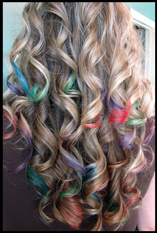 New Rainbow Sharpie Hair Colors Ideas Ideas With Pictures