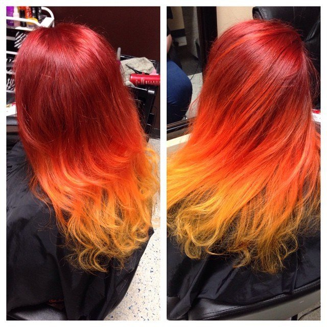 New Fire Colormelt Hair Colors Ideas Ideas With Pictures
