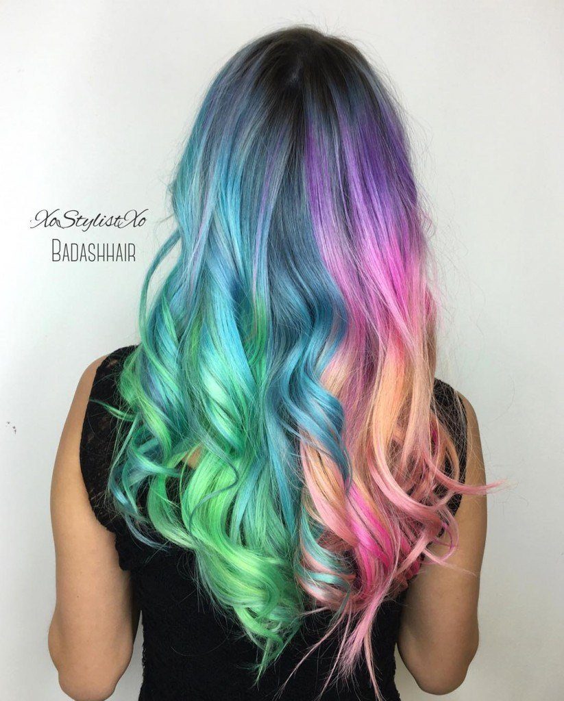 New Holographic Hair Color Hair Colors Ideas Ideas With Pictures