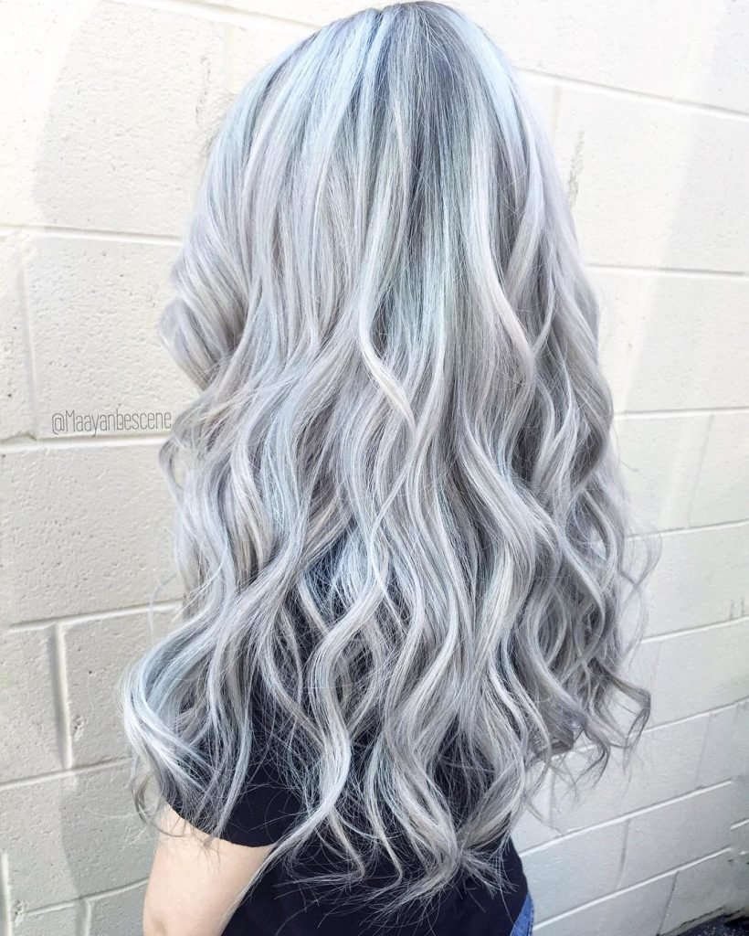 New Silver Gray Hair 135 Free Hair Color Pictures Ideas With Pictures