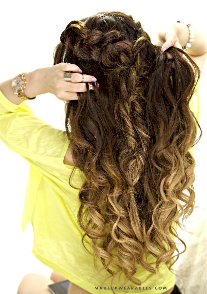 New Half Up Half Down Hairstyle Cute Easy School Hairstyle Ideas With Pictures