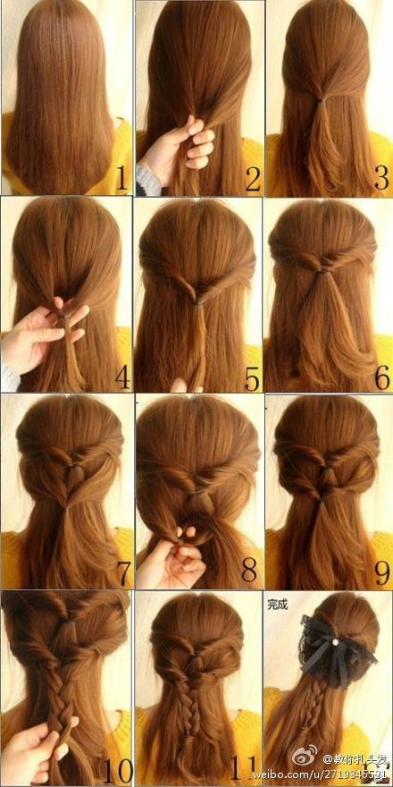 New 21 Simple And Cute Hairstyle Tutorials You Should Definitely Try It Style Motivation Ideas With Pictures