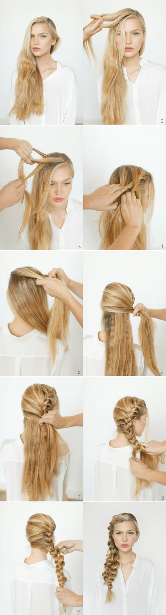 New 18 Easy Step By Step Tutorials For Perfect Hairstyles Ideas With Pictures