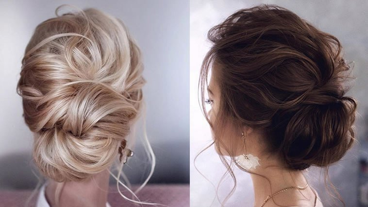 New Elegant Updo Hairstyles 2019 Wedding Hair Designs Ideas With Pictures